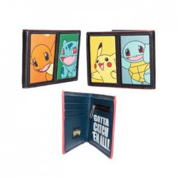 Pokemon: Starting Characters Bifold Wallet