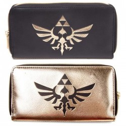 Legend of Zelda: Black / Gold Purse