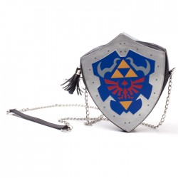 Zelda Shield PU Ladies Shoulder Bag