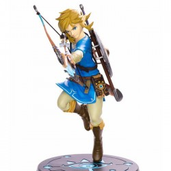 The Legend of Zelda Breath of the Wild PVC Statue Link Figure