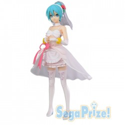 Vocaloid: Project Diva Arcade Hatsune Miku White Dress SPM figuuri