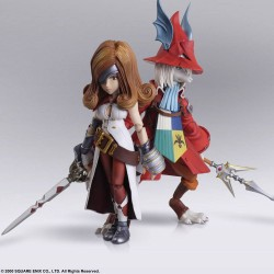 Final Fantasy IX Bring Arts Action Figures Freya Crescent & Beatrix Figuuri