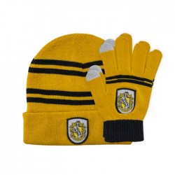 Harry Potter: Hufflepuff Beanie and Gloves set (Kids)