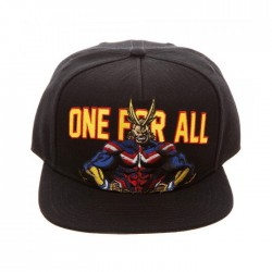My Hero Academia Snap Back Cap: All Might