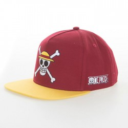 One Piece: Monkey D Luffy snap back lippis