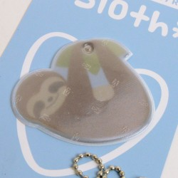 Kawaii Series: Sloth Safety Reflector (brown)