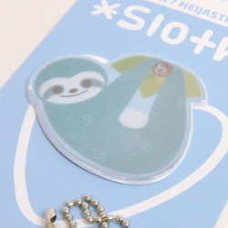 Kawaii Series: Sloth Safety Reflector (green)