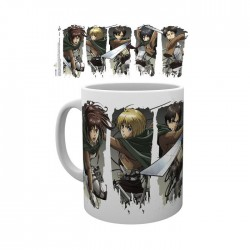 Attack on Titan: Character Montage mug