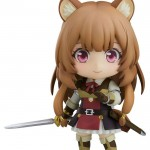 The Rising of the Shield Hero Nendoroid Action Figure Raphtalia figuuri