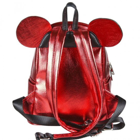 Disney Casual Fashion Minnie Red Bow Backpack