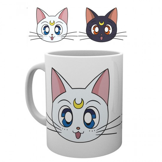 Sailor Moon Luna & Artemis Mug