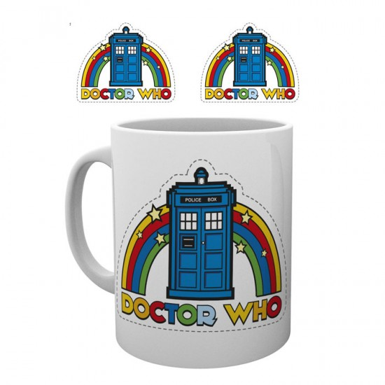 Doctor Who Rainbow Mug