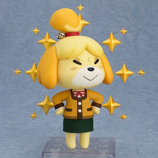 Animal Crossing New Leaf Nendoroid Shizue Isabelle Winter Figure