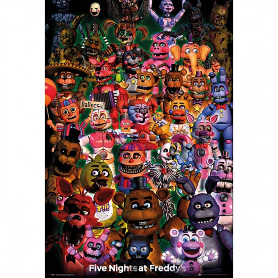 Five Nights at Freddy's Ultimate Group Poster