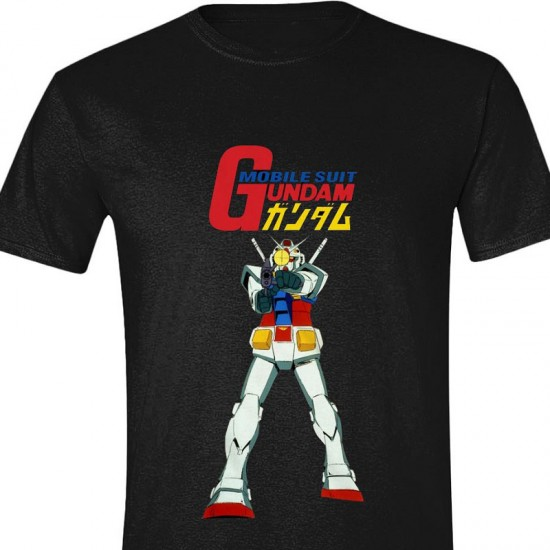 Gundam T-shirt: Mobile Suit (Unisex)