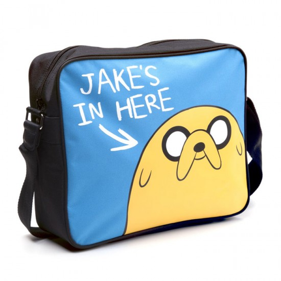 Adventure Time: Jakes in Here Messenger Bag