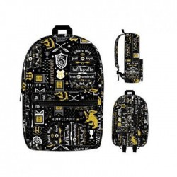 Harry Potter: Hufflepuff Icon Print Backpack