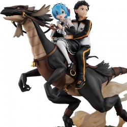 Re:ZERO -Starting Life in Another World- PVC Statue Rem & Subaru: Attack on the White Whale Figure