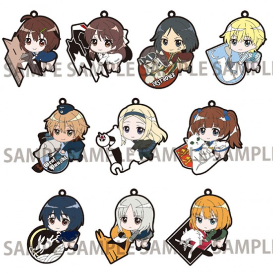 Brave Witches Rubber Strap (RANDOM)