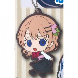 Is the Order a Rabbit: Hoto Cocoa Rubber Keyring