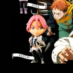 The Seven Deadly Sins: Revival of the Commandments - Gilthunder Key chain