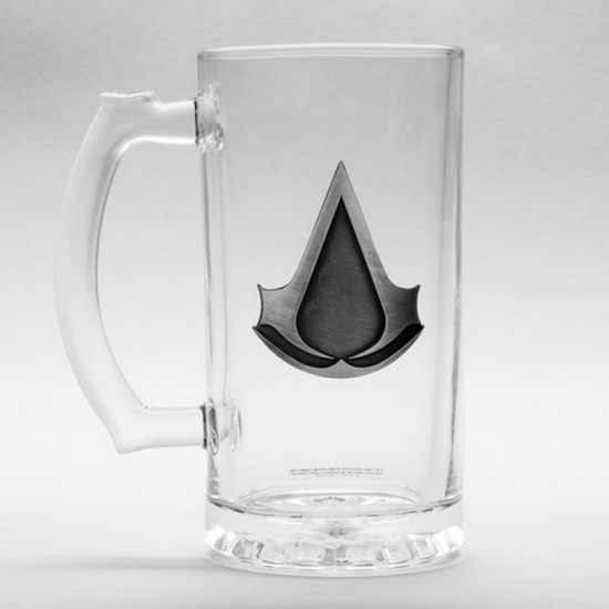 Assassins Creed Glass Stein (500ml)