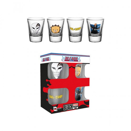 Bleach Shot Glasses (set of 4)