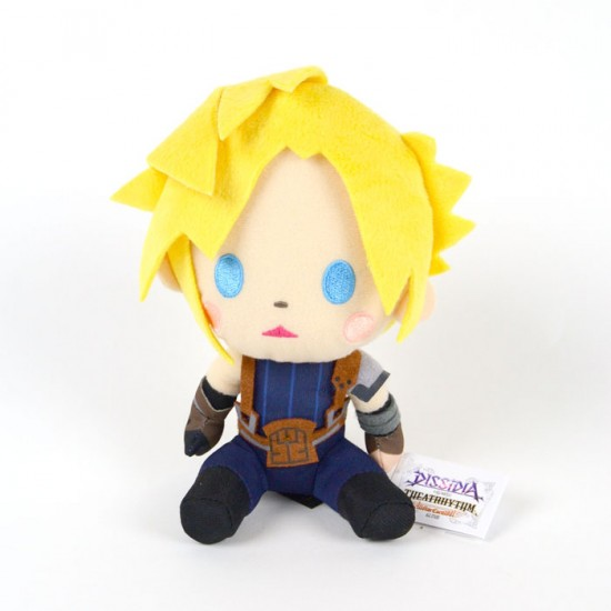 Final Fantasy Dissisia Vol 1: Super deforme Cloud Plush