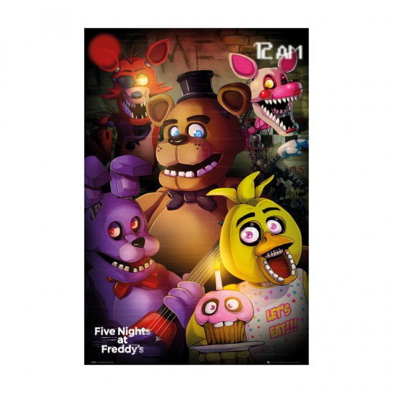 Five Nights at Freddys: Group Poster