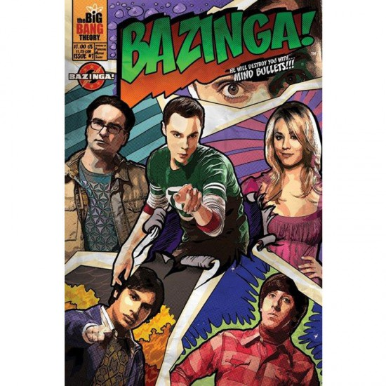 The Big Bang Theory Bazinga Poster