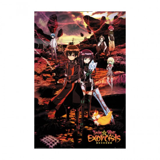 Twin Star Exorcists: Key Art Poster