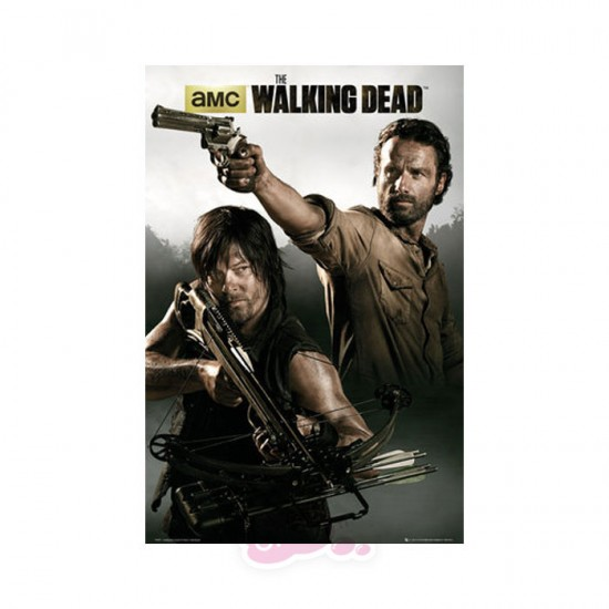 Walking Dead: Rick and Daryl Poster