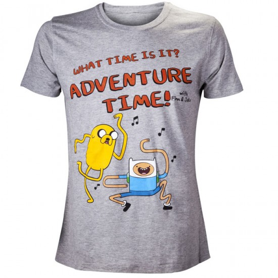 Adventure Time T-shirt: What time (Unisex)
