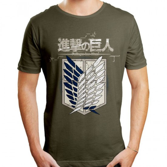 Attack on Titan T-Shirt:  Scout Regiment (Unisex).